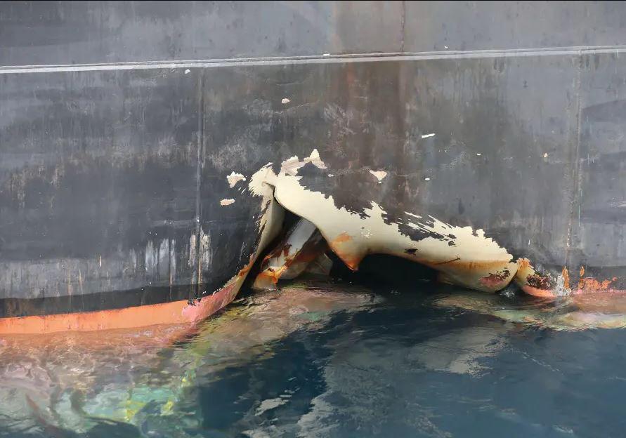 (ویدیو) اولین ویدیو از نفتکشهای آسیب دیده بندر الفجیره