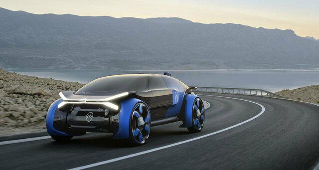 (تصاویر)  پیش طرح خودران سیتروئن، ۸۰۰ کیلومتر را با یک بار شارژ میپیماید
