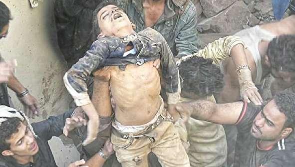 (تصاویر) عربستان انتقام عملیات یمن را از غیرنظامیان گرفت
