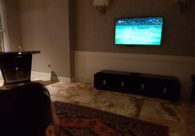 (تصویر) ویلموتس تماشاگر بازیهای هفته پایانی لیگ برتر