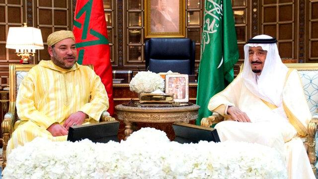 پیام پادشاه مراکش به ملک سلمان