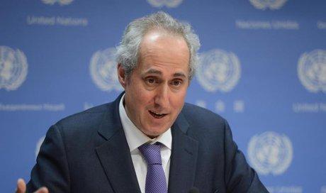سخنگوی سازمان ملل: ایران و آمریکا خویشتنداری کنند