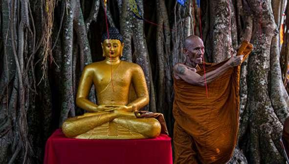 (تصاویر) مراسم روز بودا