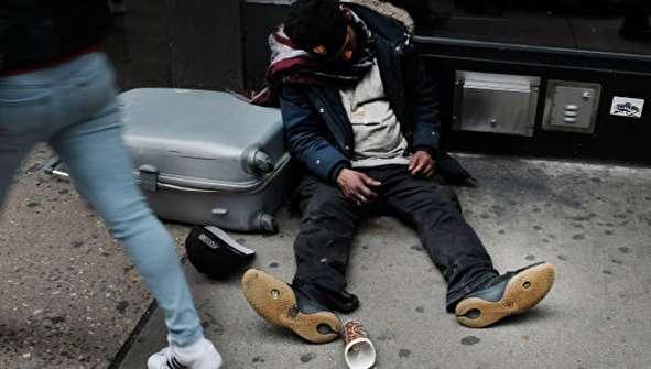 (تصاویر) بیخانمانهای آمریکا