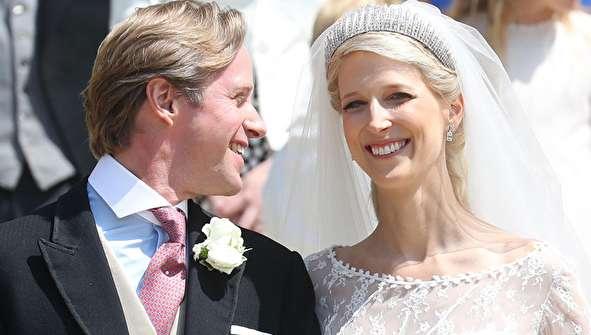 (تصاویر) مراسم ازدواج عضو خانواده سلطنتی انگلیس
