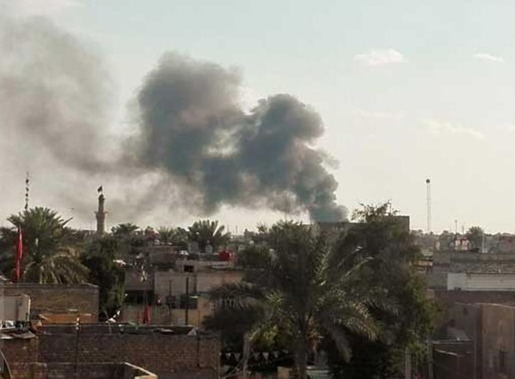 وقوع انفجار در مرکز بغداد