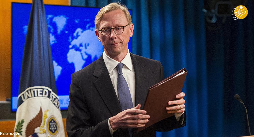 برایان هوک: کشورها انتخاب کنند؛ آمریکا یا ایران