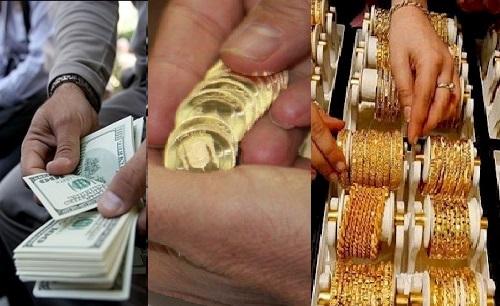 دلار، سکه و طلا؛ آغاز طوفانی بازارها در هفته اول اردیبهشت ۹۸