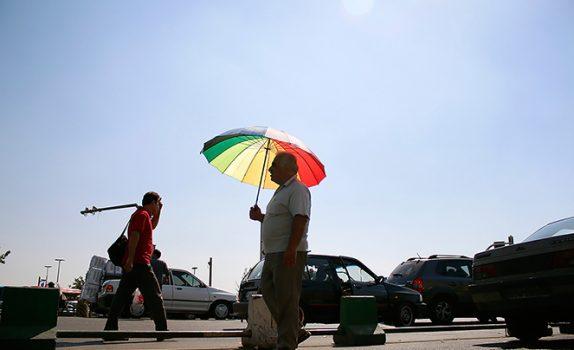 افزایش دمای هوای تهران