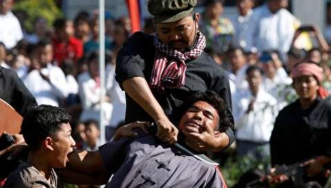 (تصاویر) بازسازی نسل کشی رژیم خمرهای سرخ