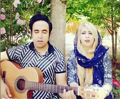 جنجال ترانهخوانی یک زن در ابیانه