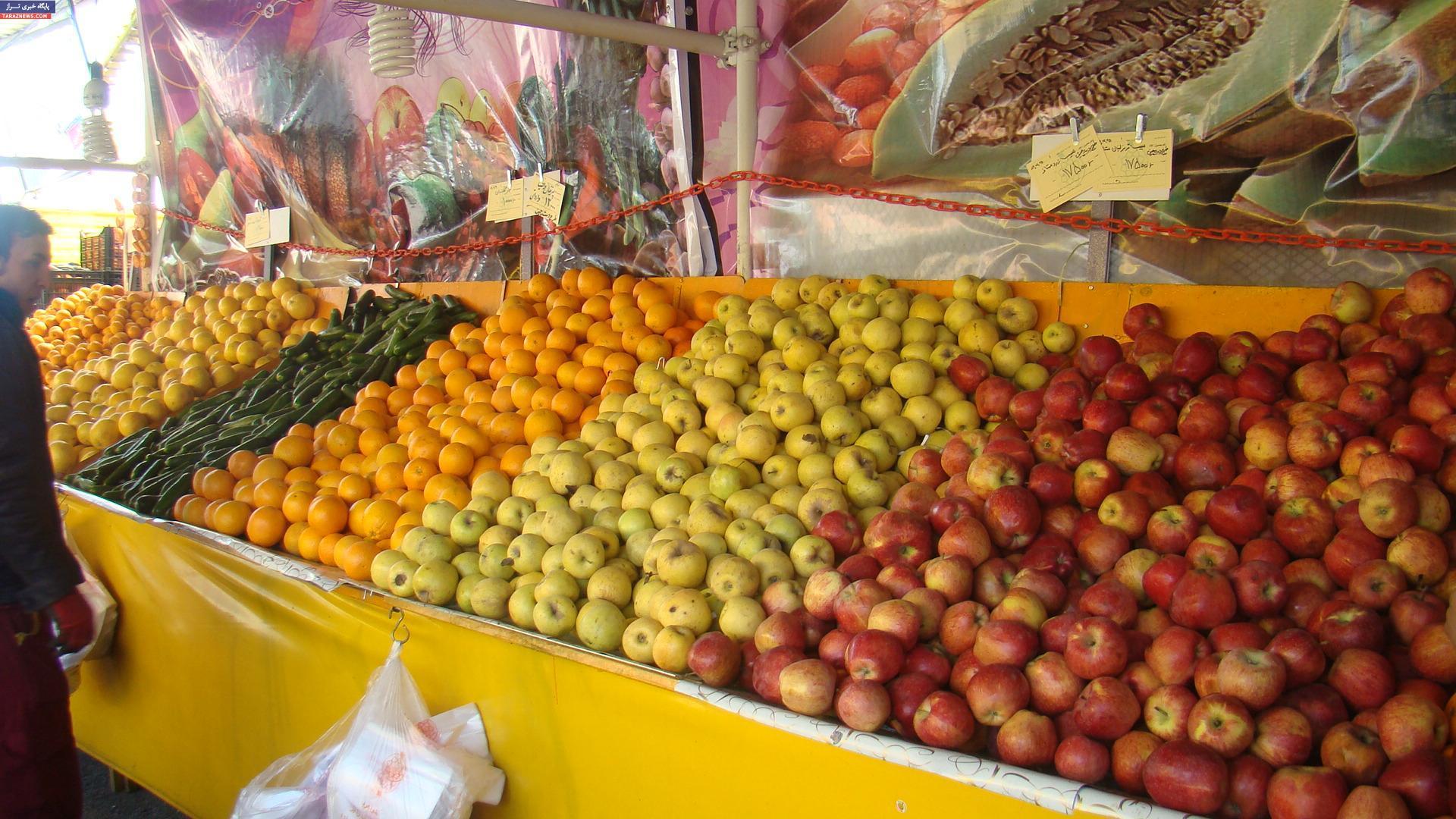 اعلام قیمتهای نجومی برای برخی میوهها توسط یک نهاد دولتی
