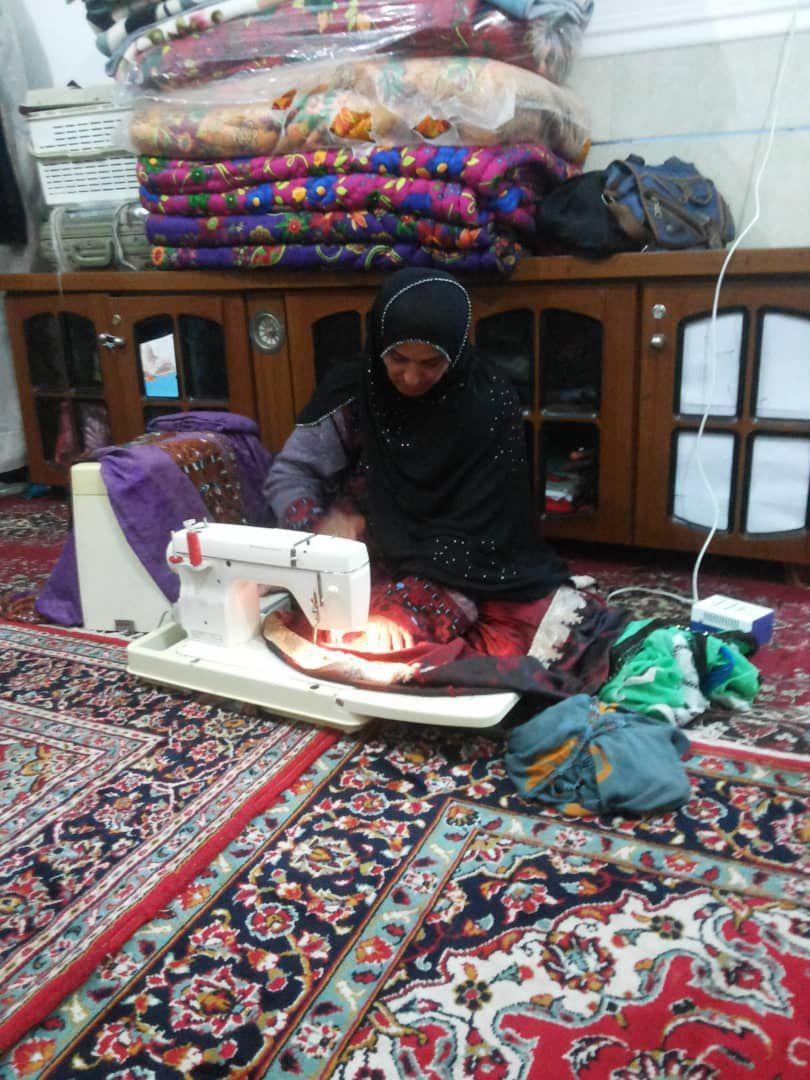 اشتغالزایی گستردهی بنیاد برکت در دلگان سیستان و بلوچستان