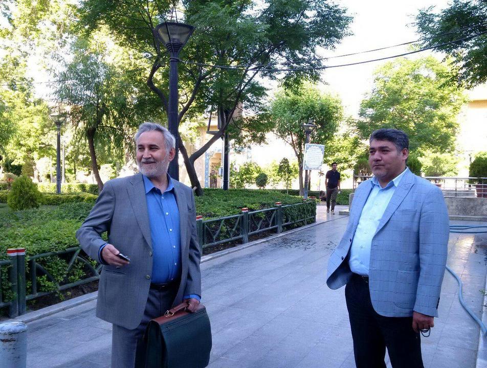 (عکس) حضور محمد رضا خاتمی در دادگاه