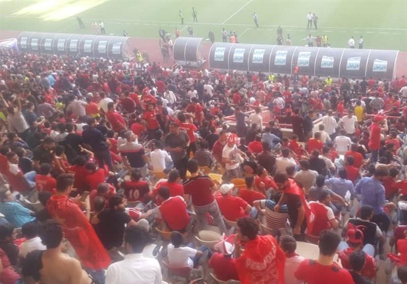 وقایع خبرساز قبل از شروع فینال جام حذفی