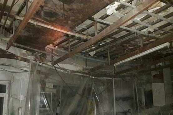 ۴ مصدوم بر اثر سقوط جرثقیل در تهران
