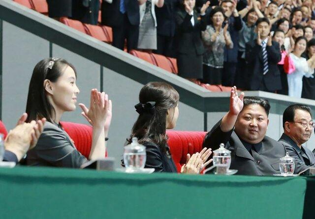 (تصویر) خواهر کیم جونگ اون پس از ۵۰ روز در انظار عمومی ظاهر شد