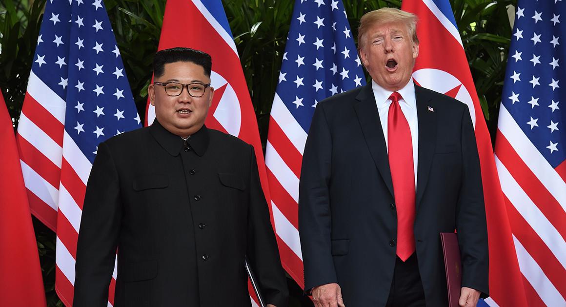 هشدار کیم جونگ اون به آمریکا