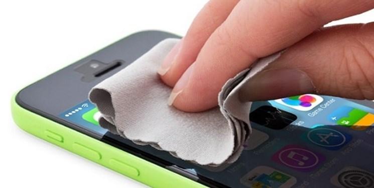 چگونه گوشیهای هوشمند را تمیز کنیم؟