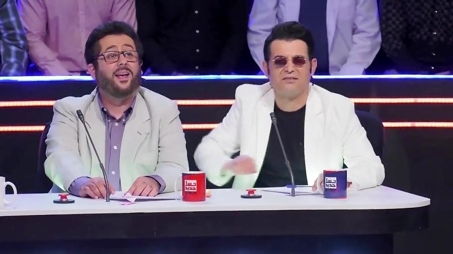 (ویدیو) شوخی طنز سریال ناخونک با عصر جدید و واکنش بشیر حسینی