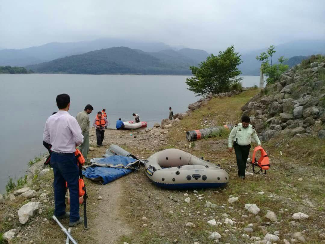 جمعآوری قایقهای شخصی در حریم سد لفور مازندران