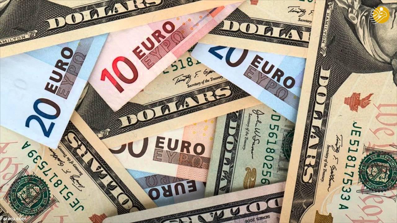 قیمت یورو و قیمت دلار در بازار امروز یکشنبه ۱۹ خرداد ۹۸