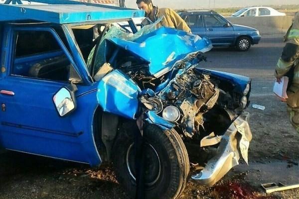 راننده پراید، راننده نیسانی را که با او تصادف کرده بود کشت