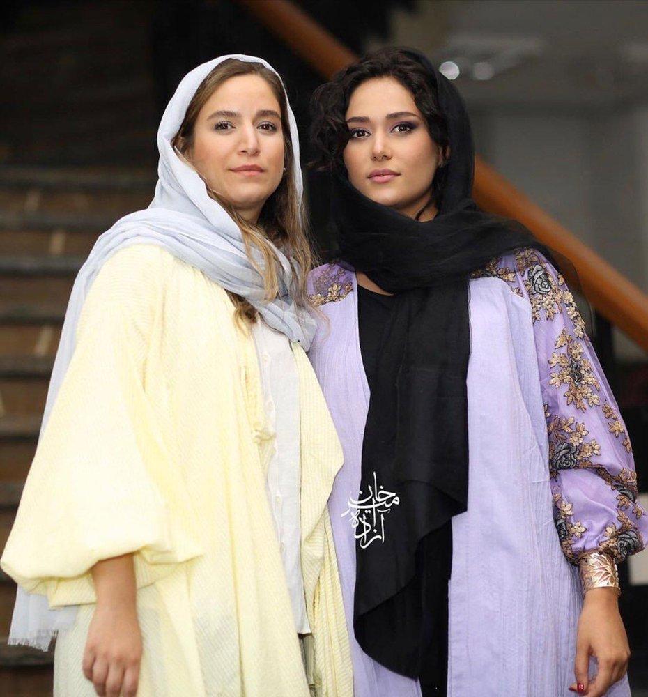 (عکس) پریناز ایزدیار و ستاره پسیانی در اکران فیلم «سرخپوست»