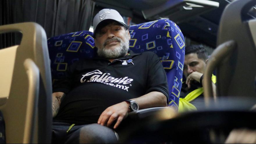 مارادونا دستگیر شد
