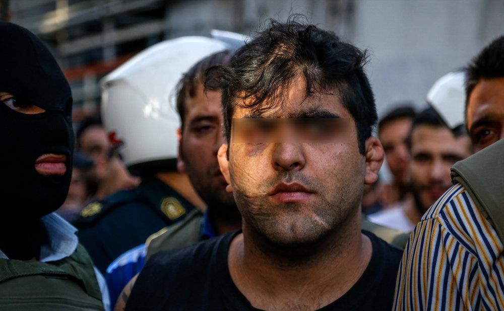دستگیری یکی از اراذل و اوباش سطح یک شرق تهران