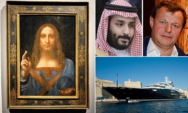 گرانترین نقاشی جهان در کشتی تفریحی ولیعهد عربستان