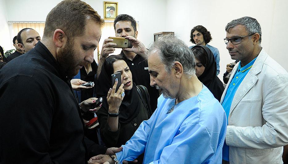 سانچی، محمد علی نجفی و میترا استاد