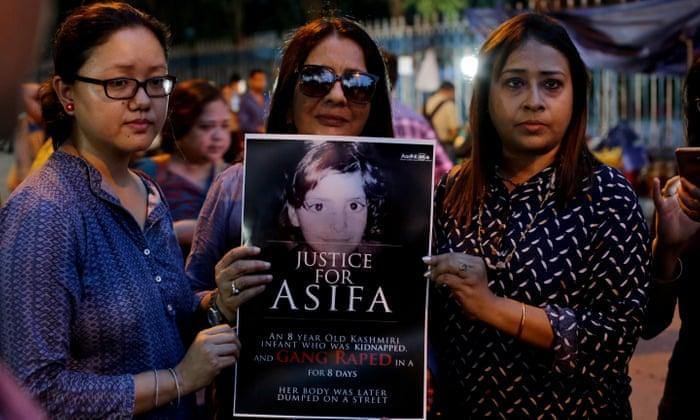 قتل دختر ۸ساله هندی بعد از تجاوز