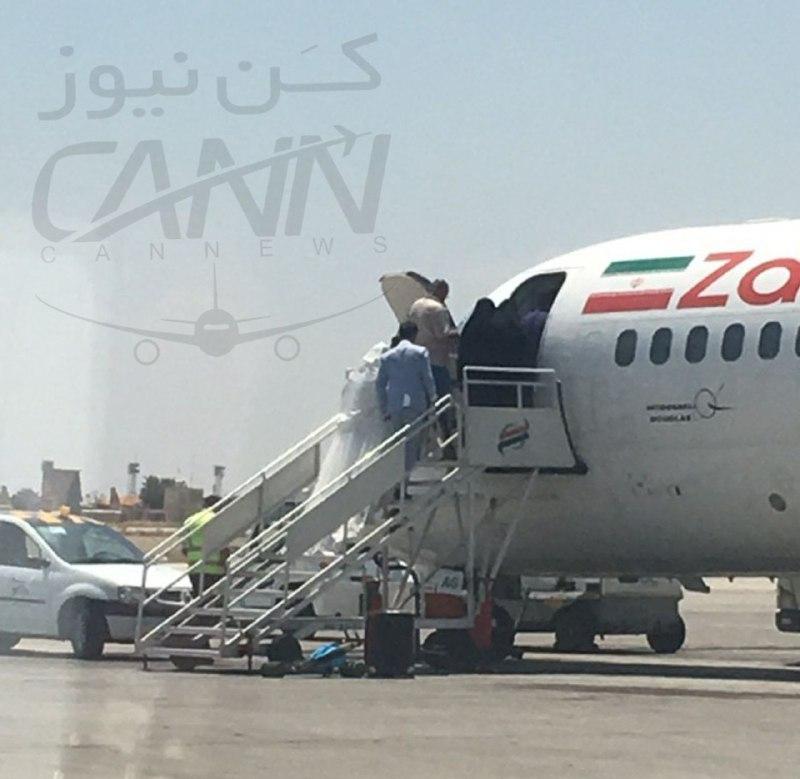 (عکس) پرواز عروس و داماد از فرودگاه مهرآباد تهران!