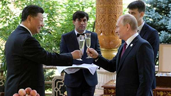 (تصاویر) جشن تولد پوتین برای رئیس جمهور چین