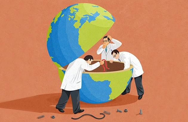 چارۀ کشور بحرانزده چیست؟