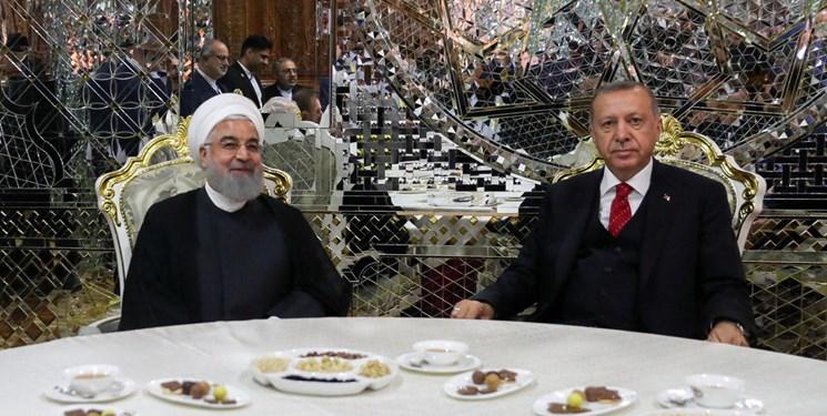 مخالفت ایران و ترکیه با تحریم و یکجانبهگرایی در روابط بینالملل (تصویر) دیدار روحانی و اردوغان در حاشیه اجلاس سیکا