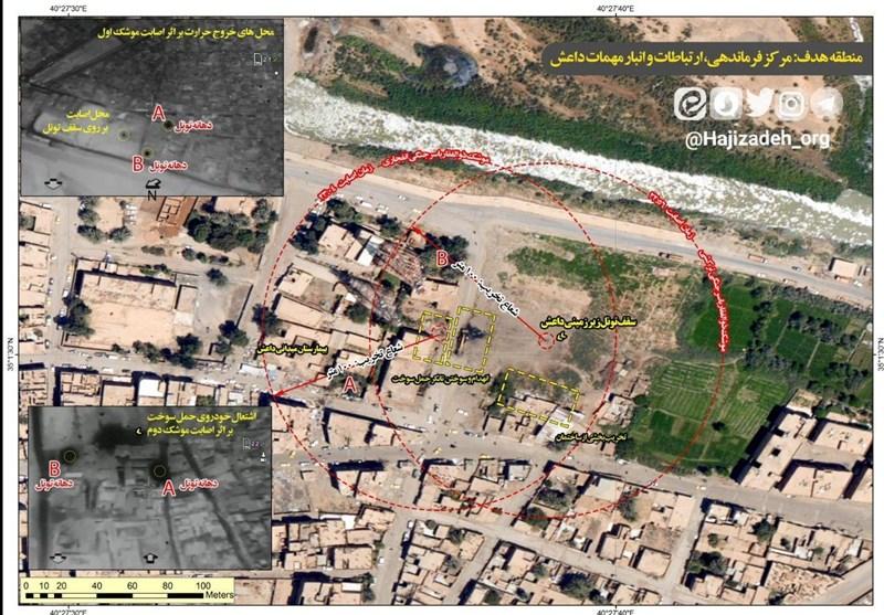 تصاویر دیده نشده از عملیات موشکی سپاه علیه داعش