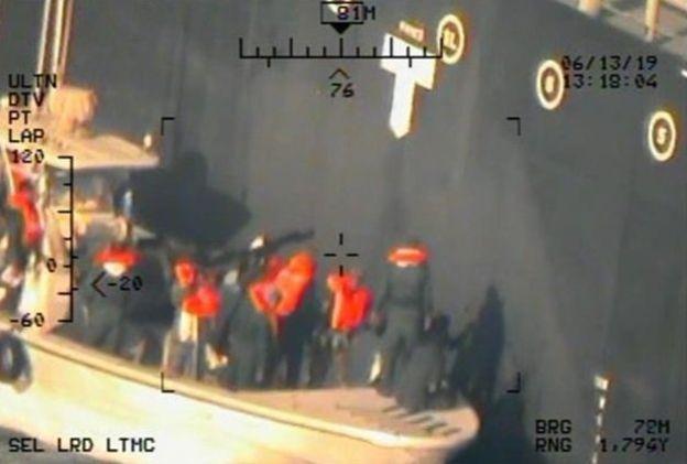 عکسهای ادعایی جدید آمریکا درباره حادثه نفتکشها