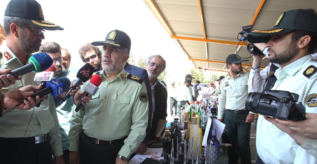 (تصاویر) کشفیات پلیس در بازداشت ۳۶۶ شرور پایتخت