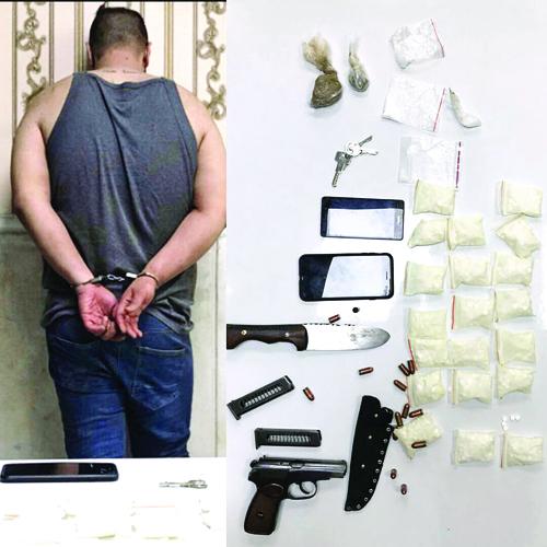 گانگستربازی دلالان مواد در مهرآباد