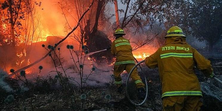 آتشسوزی گسترده در فلسطین اشغالی؛ نتانیاهو کمک خواست