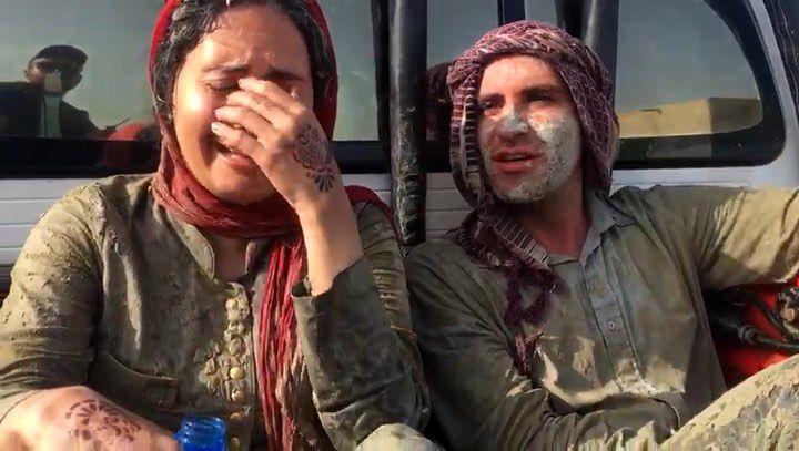 (عکس) گریه الناز شاکردوست در پشت صحنه یک فیلم