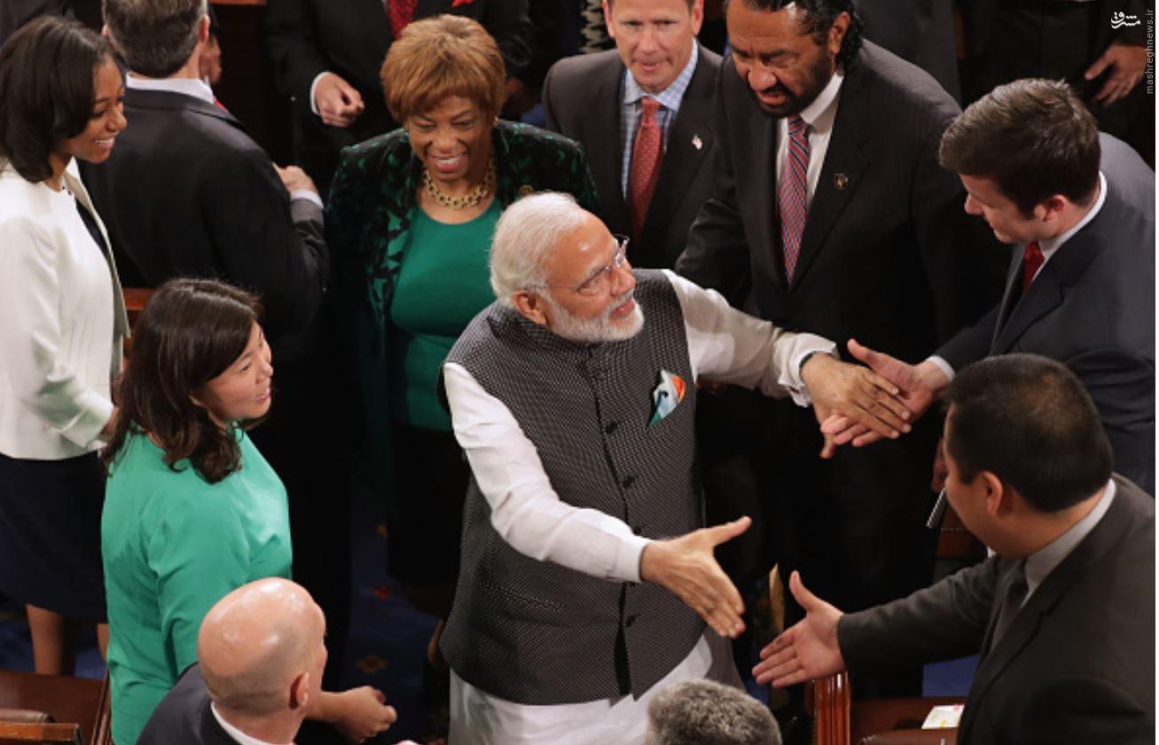 نارندرا مودی برای دومین بار نخستوزیر هند شد