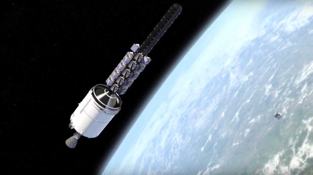 پرتاب موفق ماهوارههای اینترنتی اسپیس ایکس به فضا