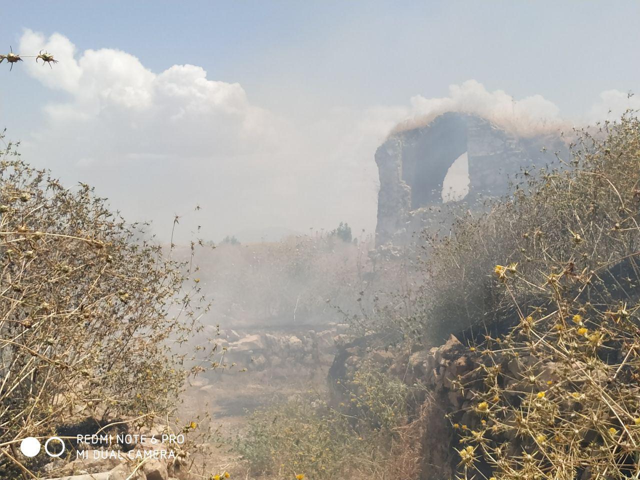 آتش سوزی بافت تاریخی دهدشت عمدی بوده است