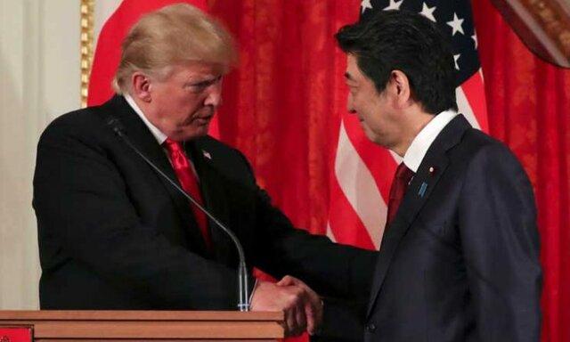 حمایت ترامپ از نظامی شدن ژاپن