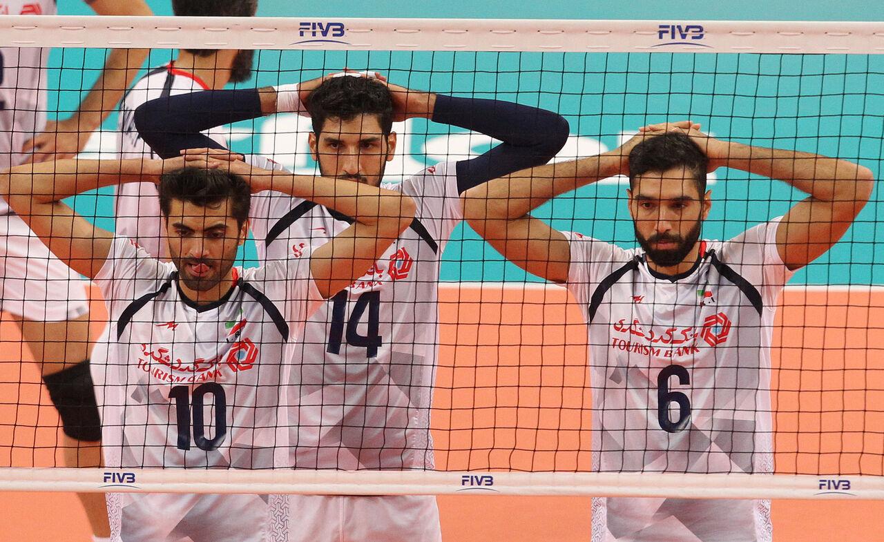 والیبال ایران و چهار سال «عادت به باخت»