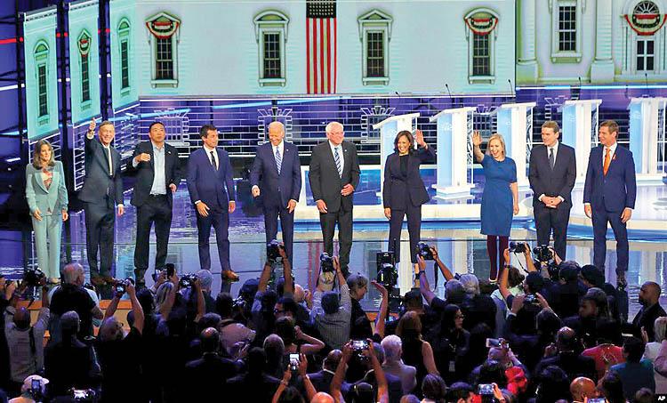 ایران در مواضع رقبای ترامپ