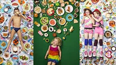 (تصاویر) کودکان در کشورهای مختلف چه غذاهایی میخورند؟